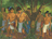 Lamanites hiding in wilderness