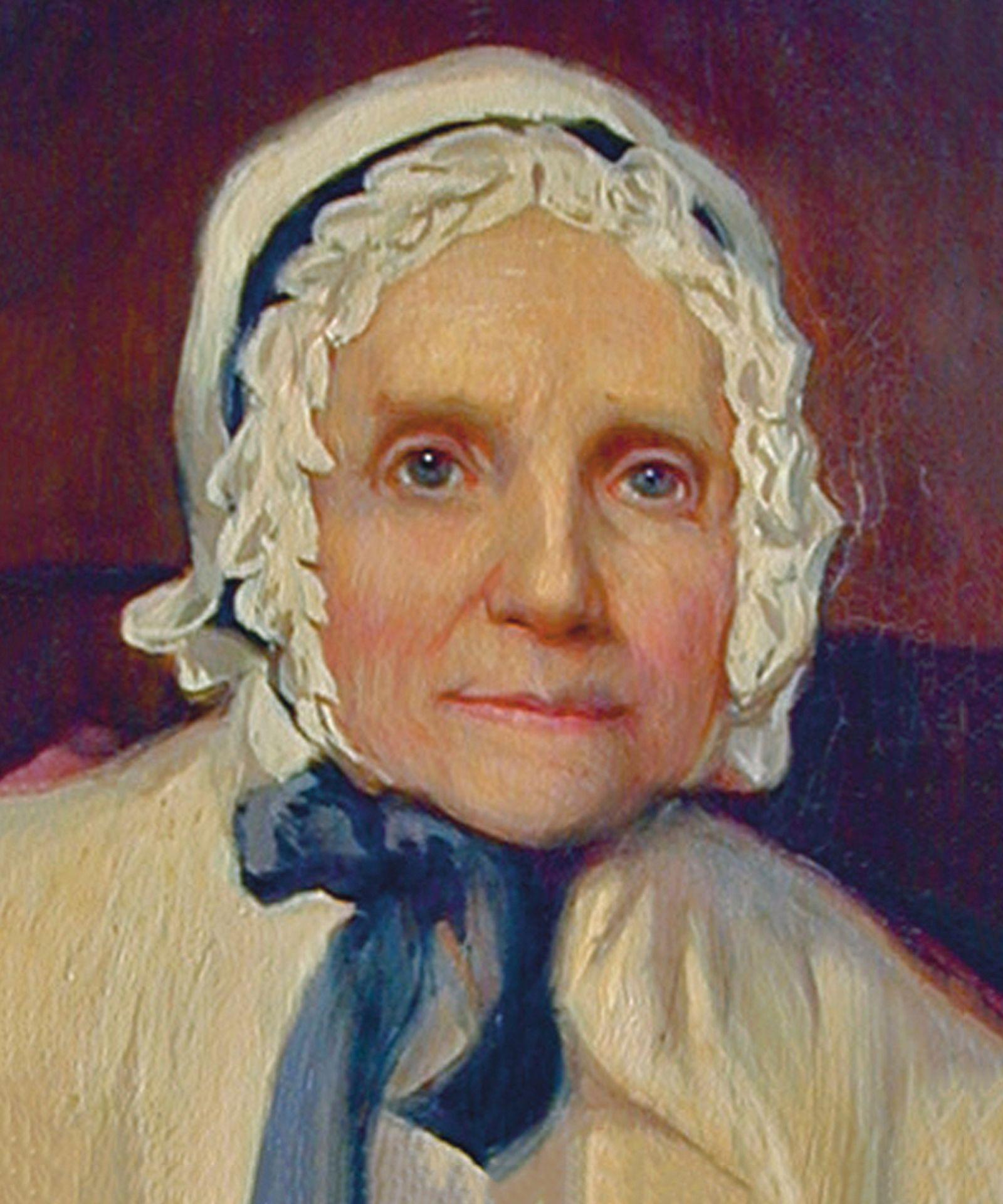 """""""Lucy Mack Smith,"""" by Sutcliffe Maudsley."""