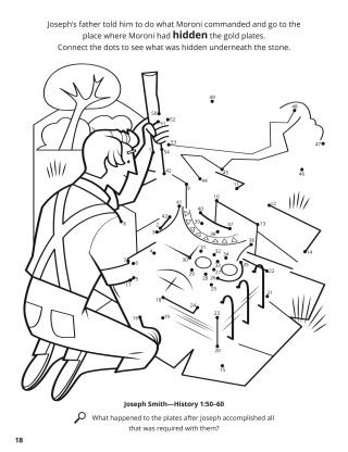 The Gold the Plates coloring page