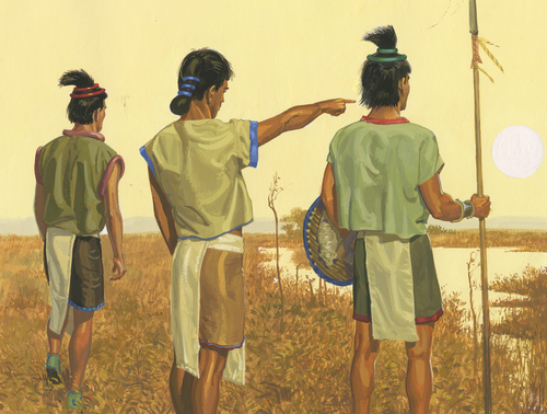 warriors in field