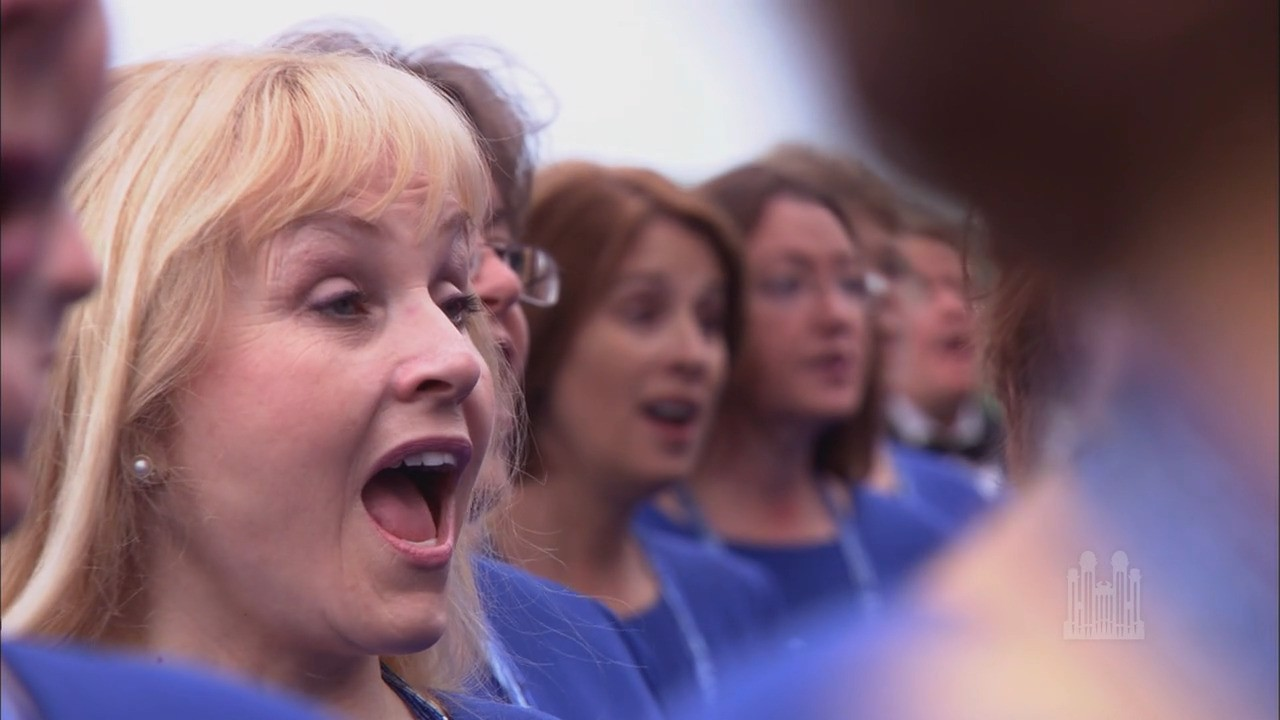 """On the banks of the Missouri River, the Mormon Tabernacle Choir and Orchestra at Temple Square present """"Amazing Grace"""" arranged by Mack Wilberg.Episode 4267. Aired June 26, 2011."""
