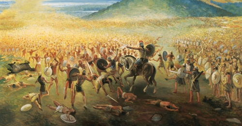Nephites Last Battle