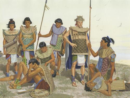 warriors after battle