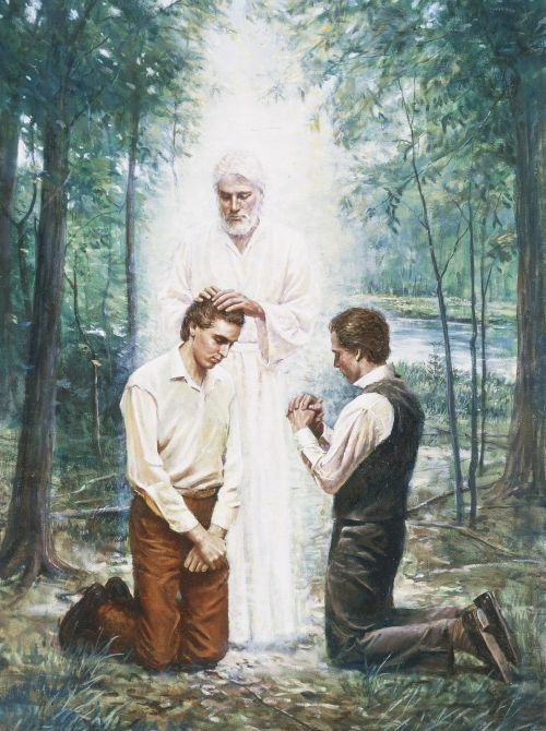 The Restoration of the Aaronic Priesthood
