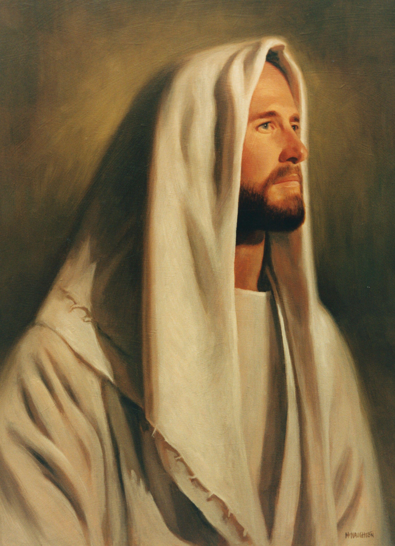 A portrait of the Savior by Jon McNaughton