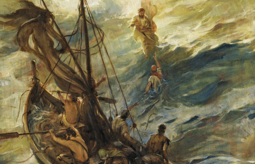 The Savior Walked on Water
