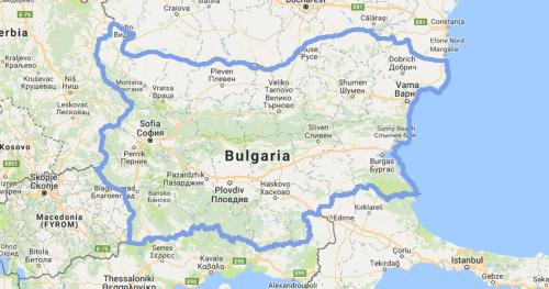 Bulgaria Mission Borders