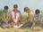 four sons praying