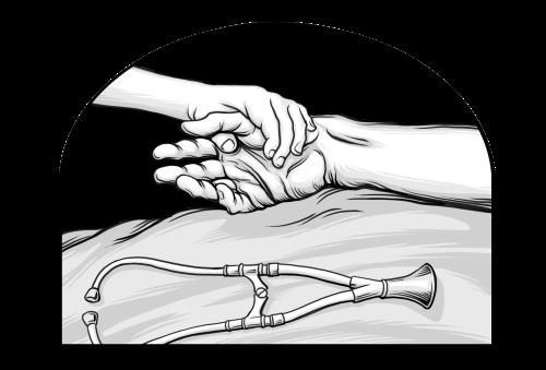 Saints V2 illustration - Death of Brigham Young