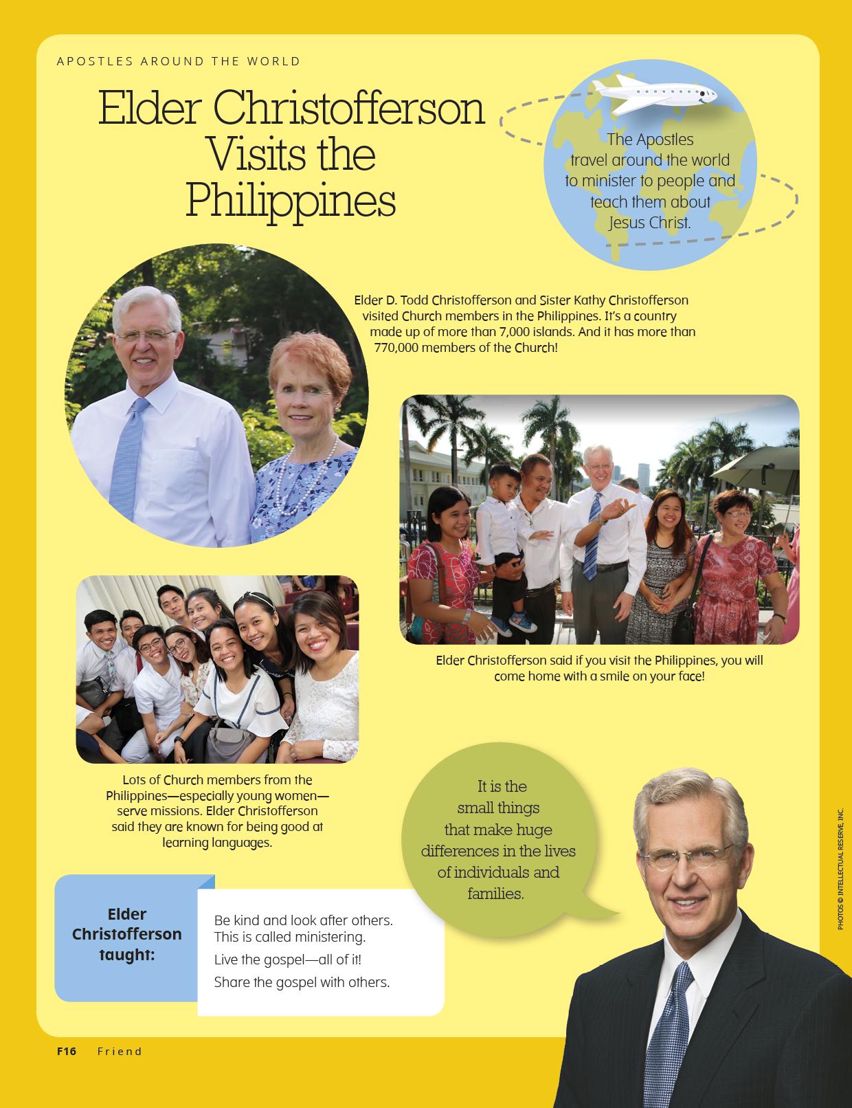 Elder Christofferson Visits the Philippines