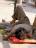 man laying on street