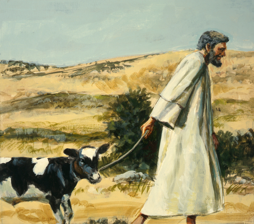 Samuel going to Bethlehem