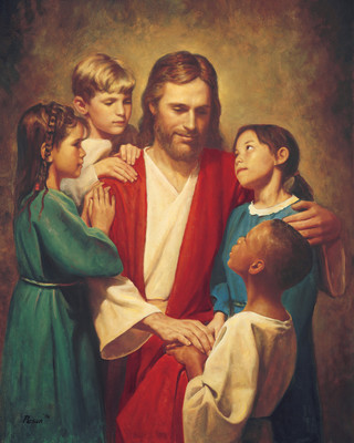 Christ and Children from around the World (Christ with Children)