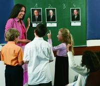teacher at board