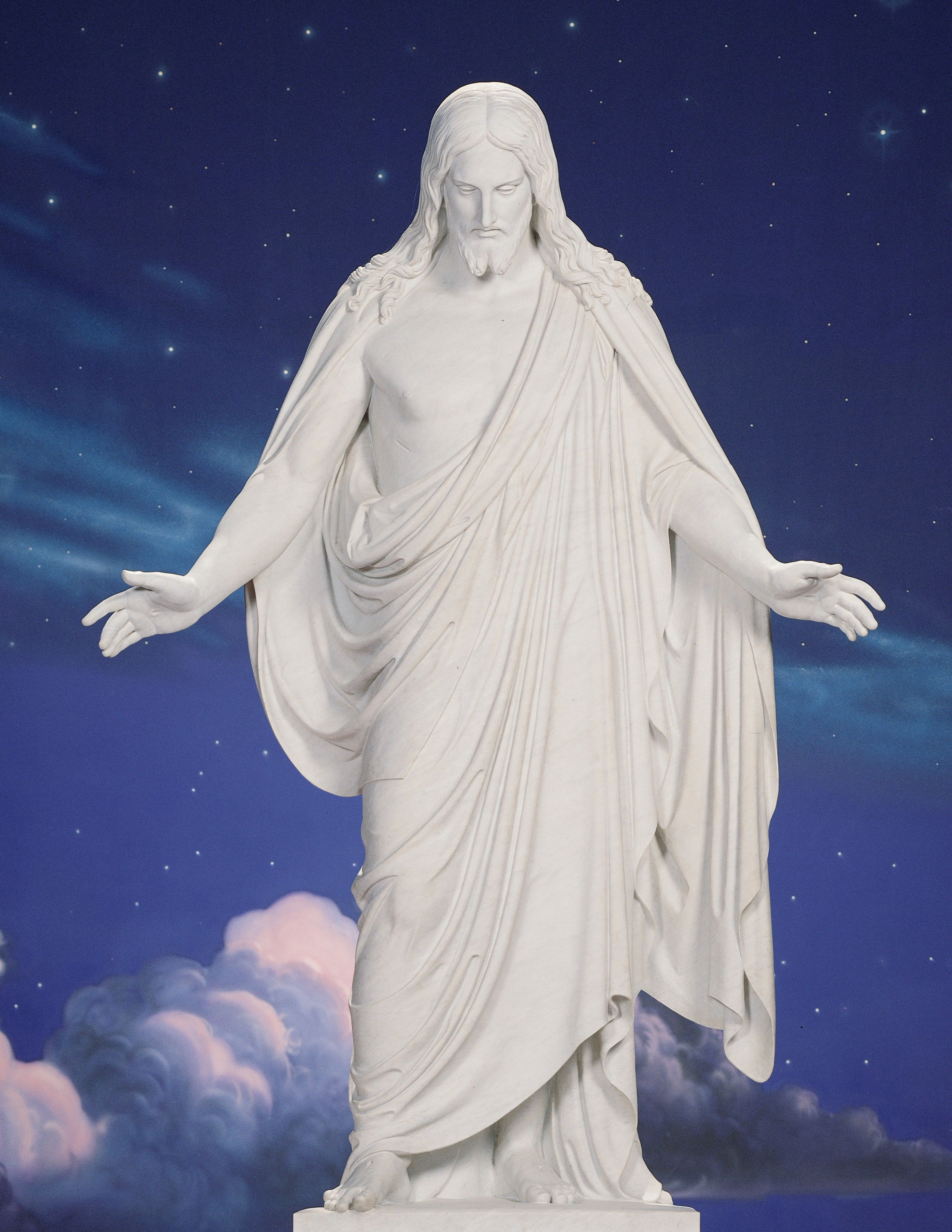 The Christus statue in the Temple Square North Visitors' Center.