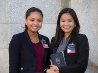 Temple Square Sister Missionaries