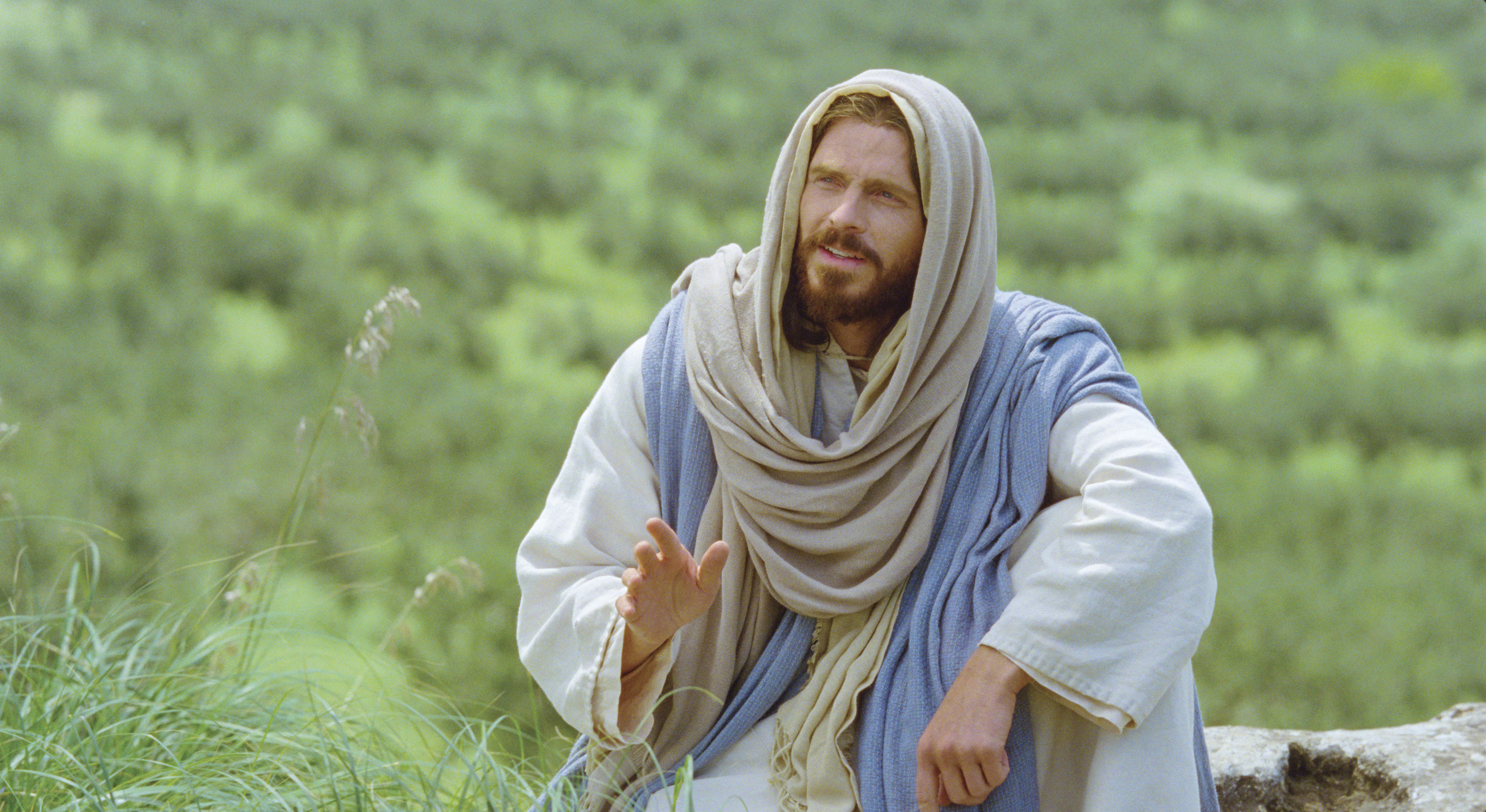"""Jesus teaches His gospel and declares, """"Inasmuch as ye have done it unto one of the least of these my brethren, ye have done it unto me."""""""