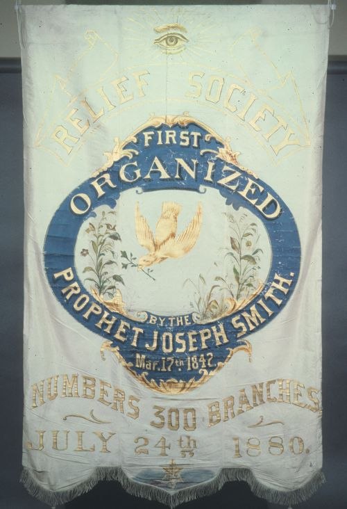 Relief Society Banner