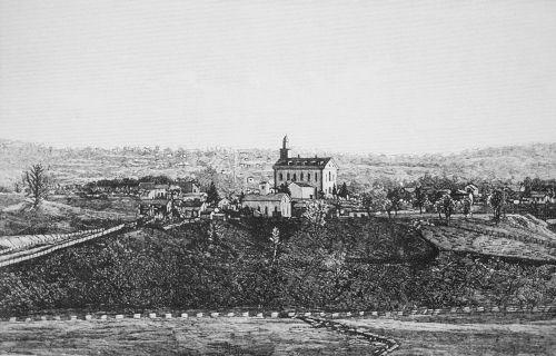 Kirtland Temple and vicinity