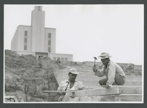 New Zealand Temple Construction Workers