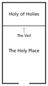 temple veil diagram