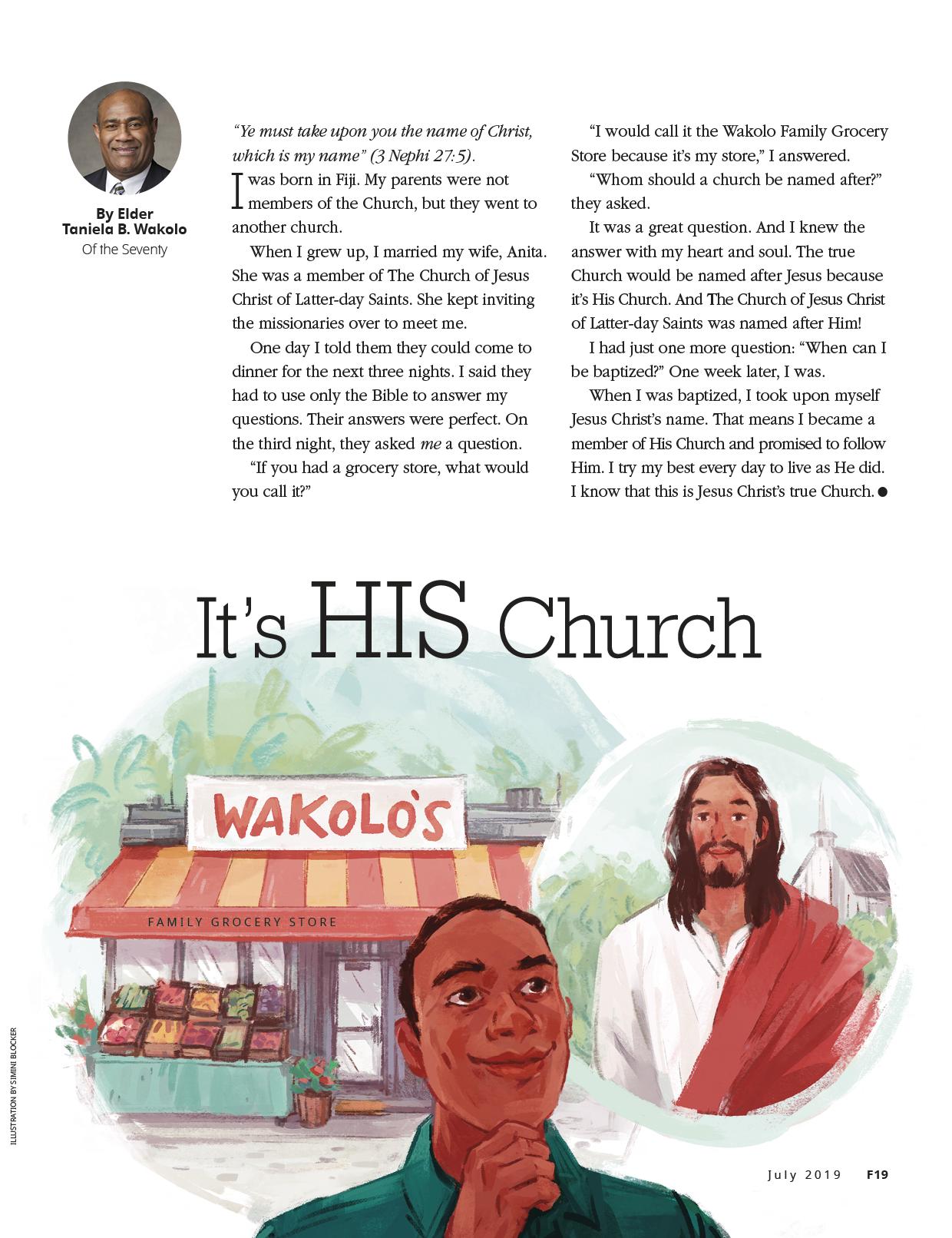 Its His Church