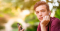 Young man with phone