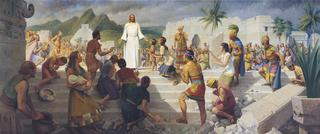 Jesus Teaching in the Western Hemisphere (Jesus Christ Visits the Americas)