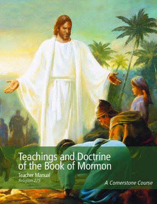 Teachings and Doctrine of the Book of Mormon Teacher Manual