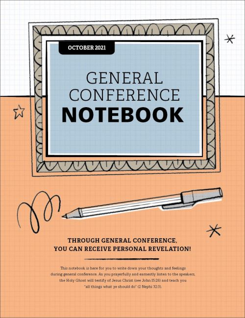 191st Semiannual General Conference Notebook