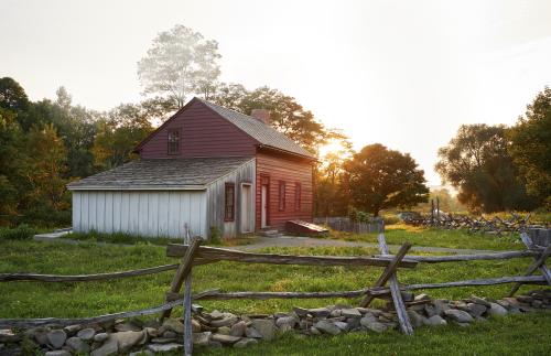 Various farms: Waterloo, New York
