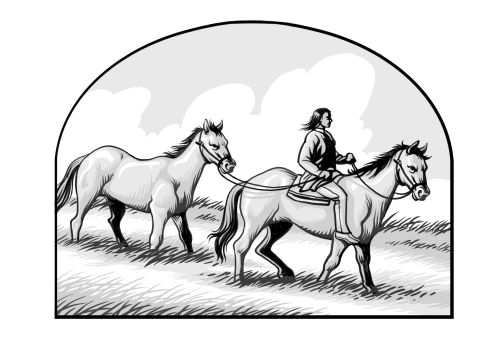 Sagwitch with Horse