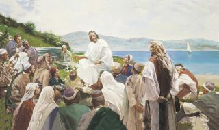 Sermon on the Mount, by Harry Anderson