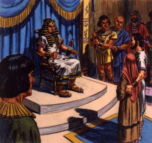 Abraham, Sarah, and king of Egypt