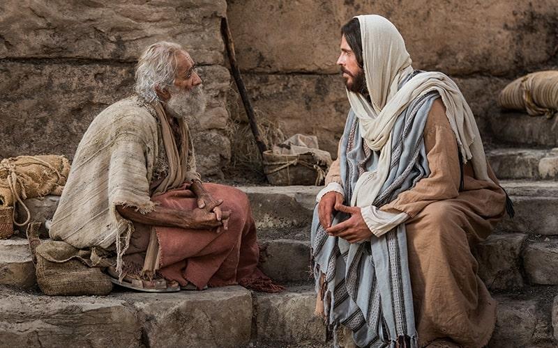 Cristo Junto Al Estanque De Betesda