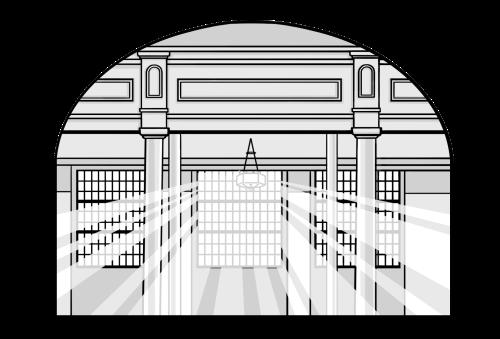 Saints V2 illustration - Salt Lake Tabernacle Windows