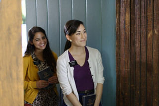 Sister Missionaries at a Door