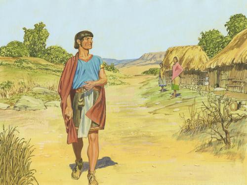 Korihor walking