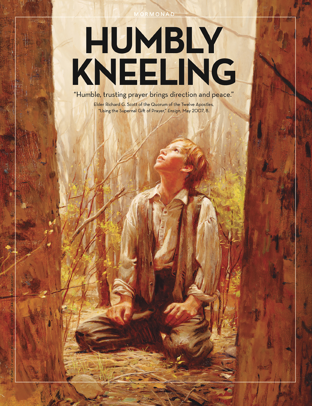 Humbly Kneeling