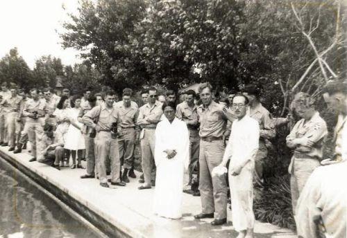 The Sato's Baptism
