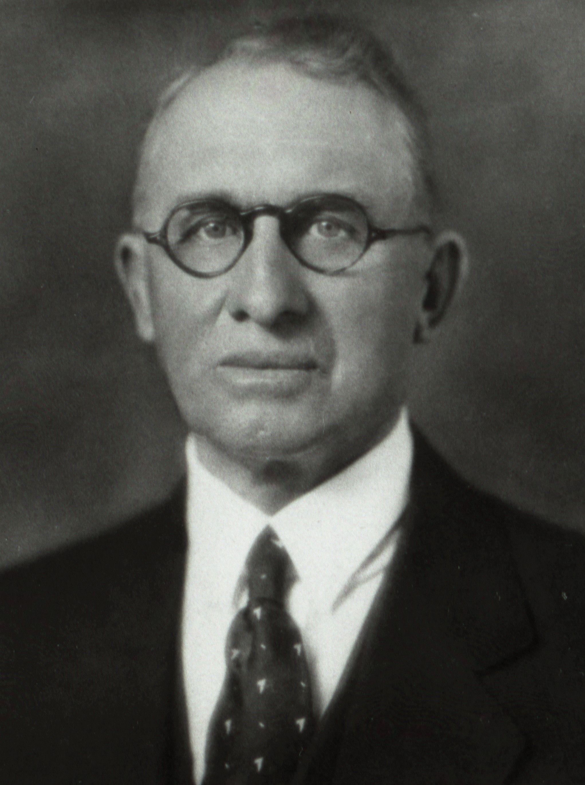 President Ezra Taft Benson's father, George Taft Benson Jr.