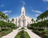 A daytime picture of the Arequipa Peru Temple and grounds.