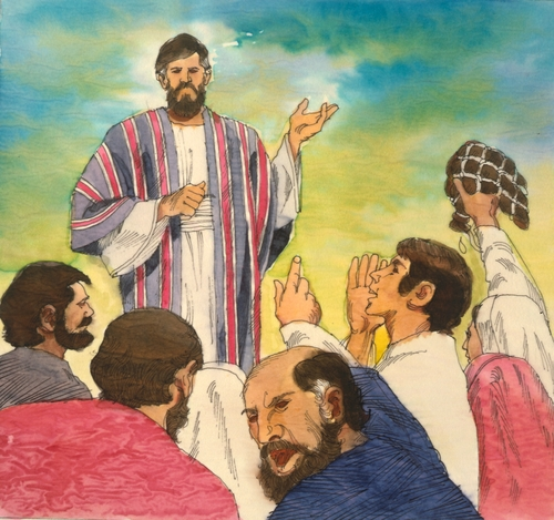 Israelites yelling at Moses