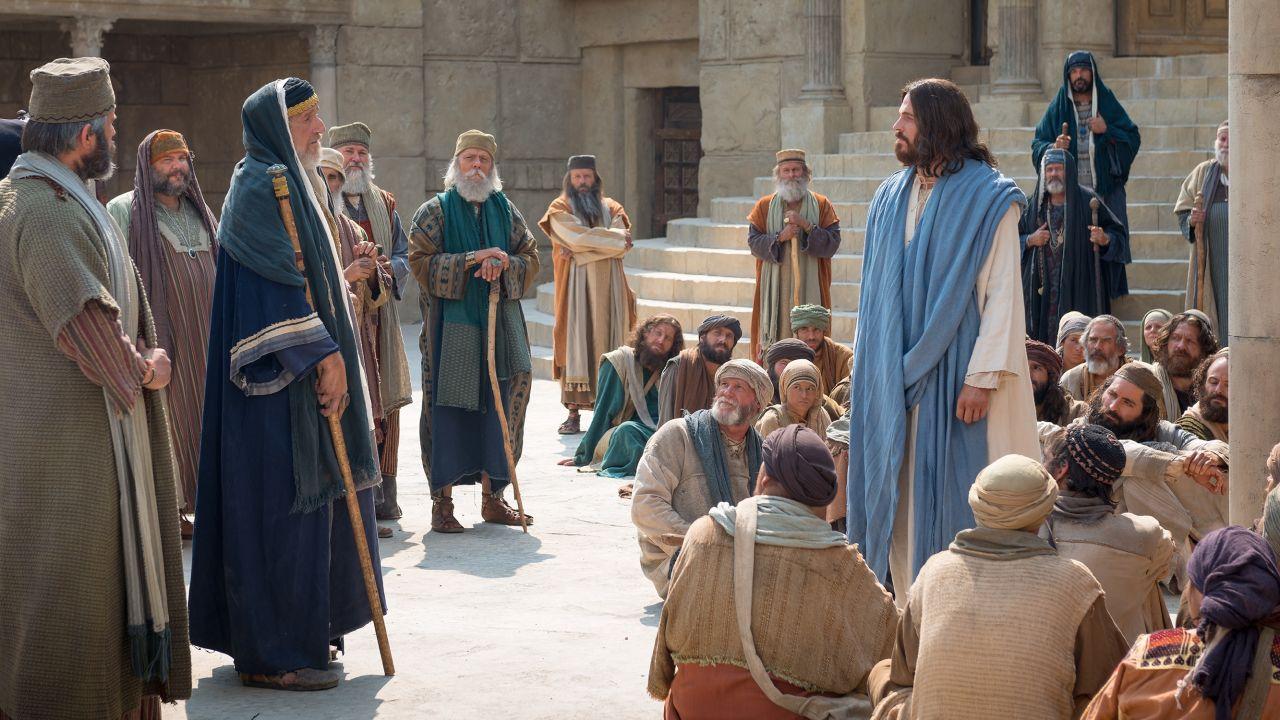 Holy Week – Christ teaches