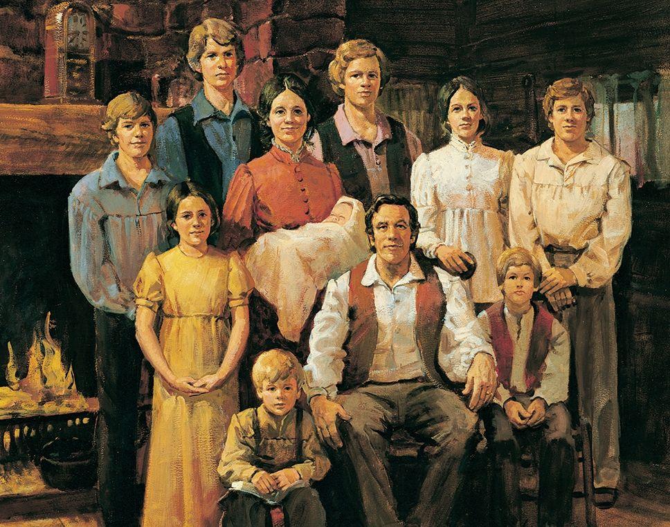 """Joseph Smith Family,"" by Dan Baxter."
