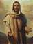 Christus mit ausgestreckten Händen