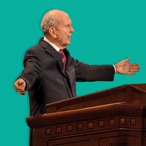 President Russell M. Nelson Devotional Event Photography