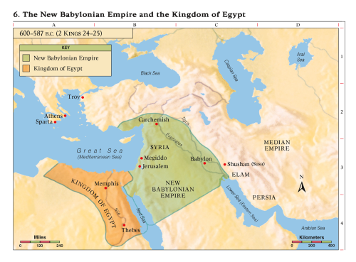 6 The New Babylonian Empire And The Kingdom Of Egypt