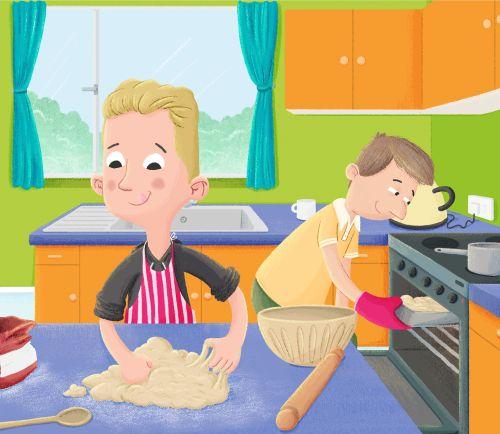 Taylor Baking Bread