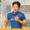 Young Man from Japan Running